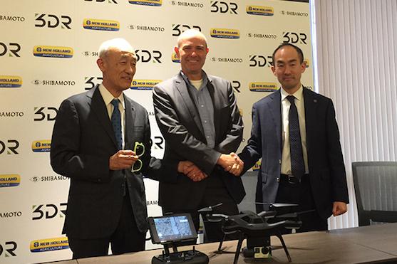 Společnost 3DR uzavřela partnerství s japonskou firmou Shimbamoto | Zdroj: 3drobotics.com