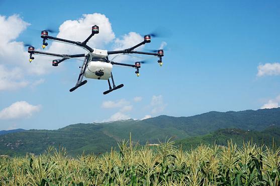 Společnost DJI představila novou oktokoptéru určenou pro zemědělce | Zdroj: dji.com
