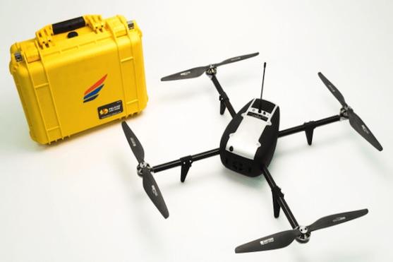 Dron Kespry Drone System   Zdroj: kespry.com