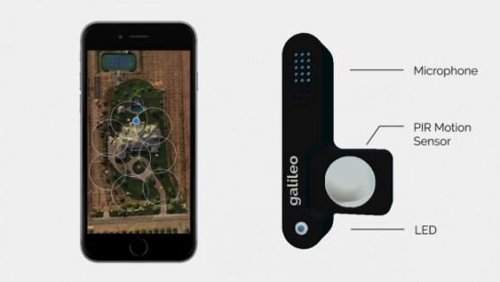Senzor Galileo | Zdroj: indiegogo.com