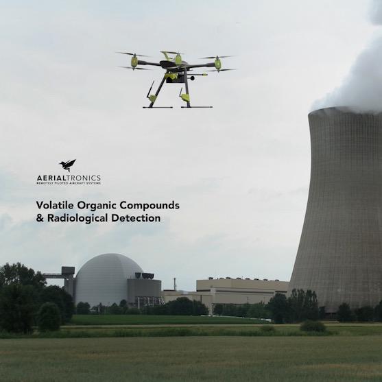 Nově dokáže dron Altura Zenith detekovat i radiaci či potenciálně nebezpečné chemikálie | Zdroj: aerialtronics.com