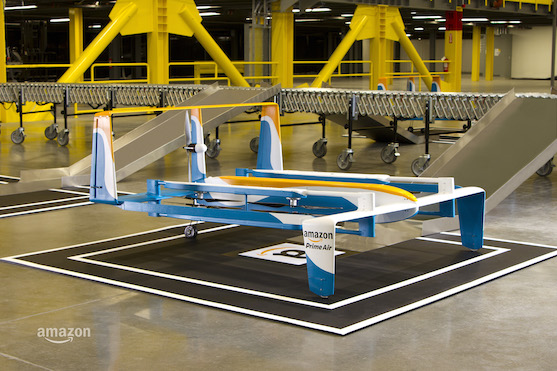 Nový design dronu Amazon Prime Air | Zdroj: amazon.com