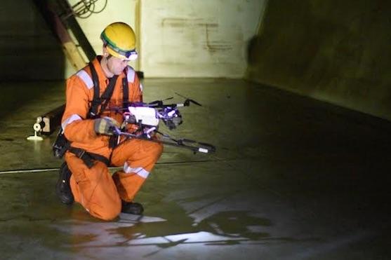 Společnost Cyberhawk provedla inspekci plovoucí ropné plošiny | Zdroj: thecyberhawk.com