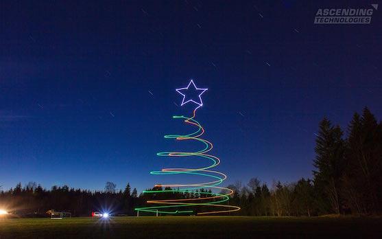 Vánoční stromeček s hvězdou | Zdroj: asctec.de