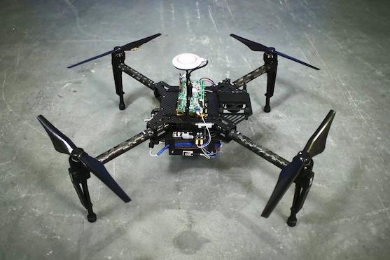 Prototyp dronu s vodíkovým palivovým článkem | Zdroj: intelligent-energy.com