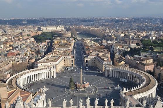 Svatopeterské náměstí ve Vatikánu | Zdroj: pixabay.com