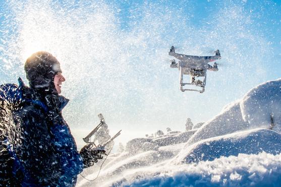 Petr Jan Juračka se svým dronem Phantom 3 Advanced | Zdroj: Petr Jan Juračka