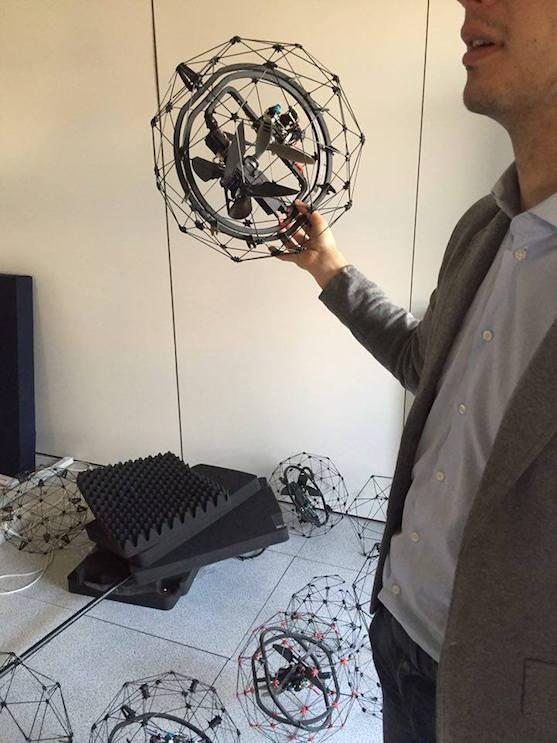 Prototypy dronu Gimball | Zdroj: dronysitmp.cz
