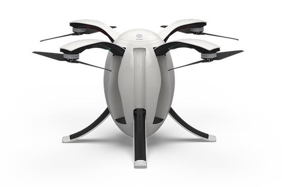 Dron PowerEgg v rozloženém stavu | Zdroj: powervision.me